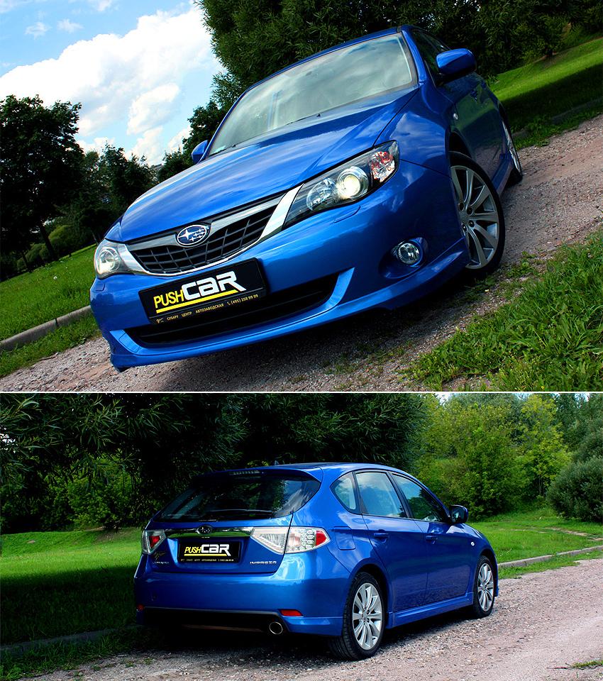Тест-драйв Subaru Impreza: Японский автомобиль для изысканных гурманов