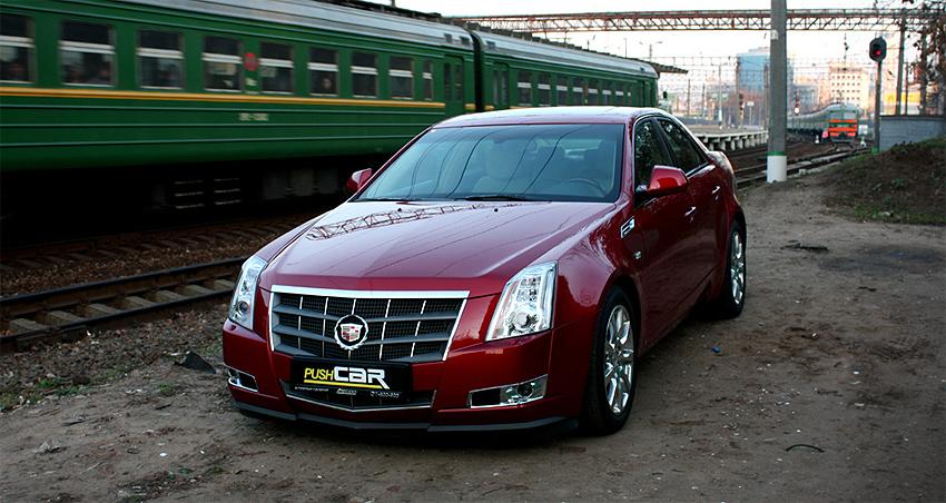 Тест-драйв Cadillac CTS: Как мимолетное виденье...