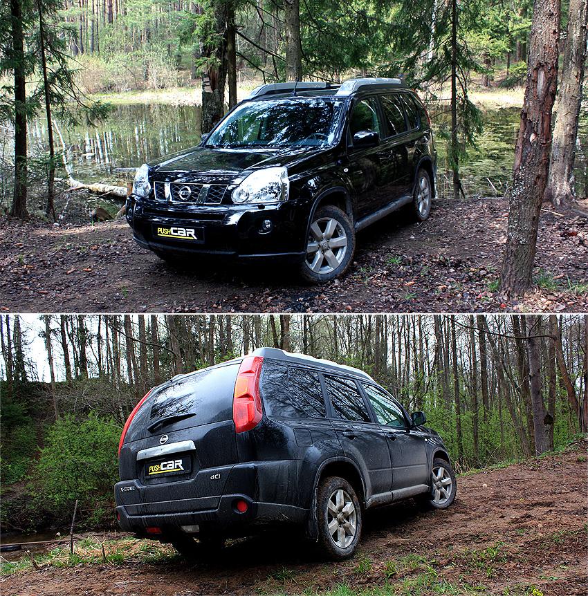 Тест-драйв Nissan X-Trail: Дизель покоряет российские сердца
