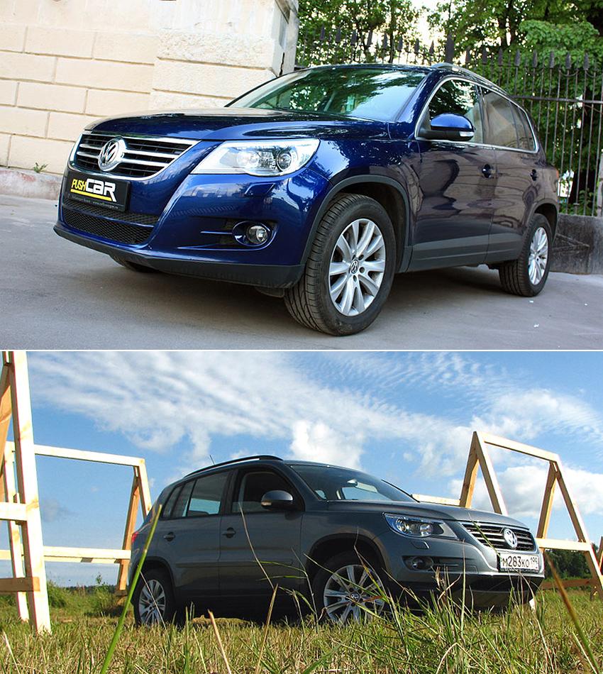 Тест-драйв Volkswagen Tiguan: Sport&Style или Track&Field?