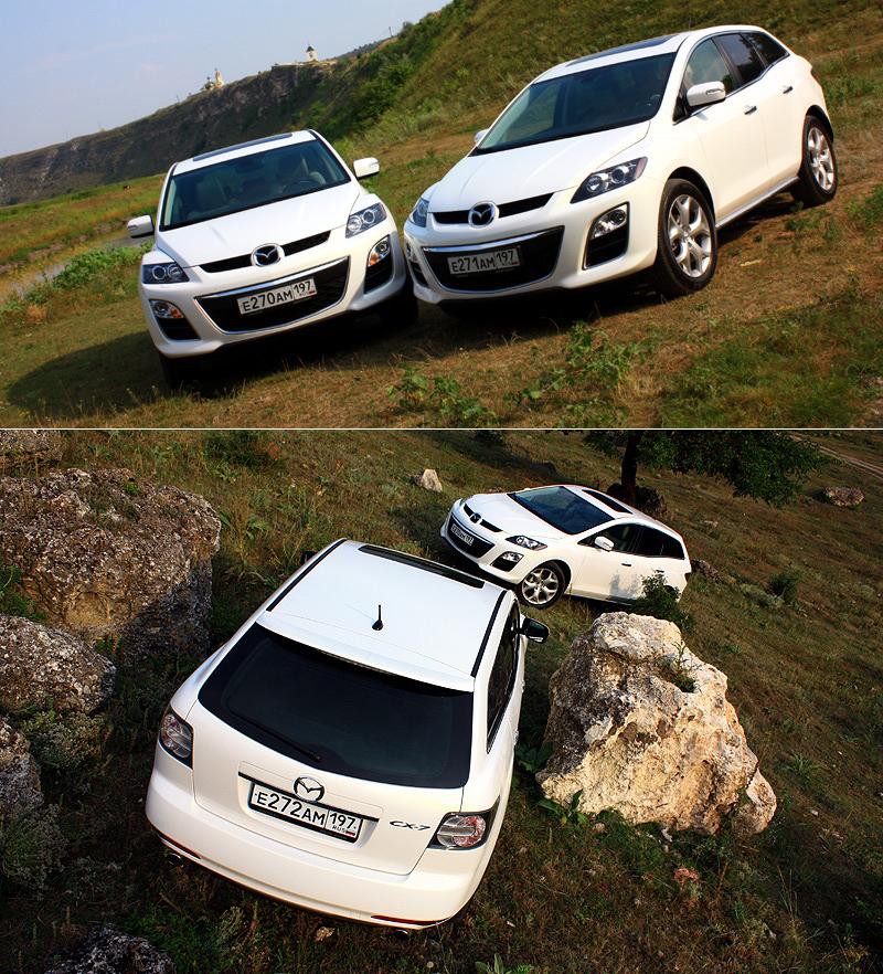 Тест-драйв Mazda CX-7: Дегустация новой версии