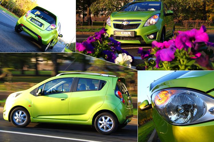 Тест-драйв Chevrolet Spark: Новая эпоха!