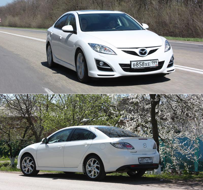 Тест-драйв Mazda 6: Жизнь требует движения