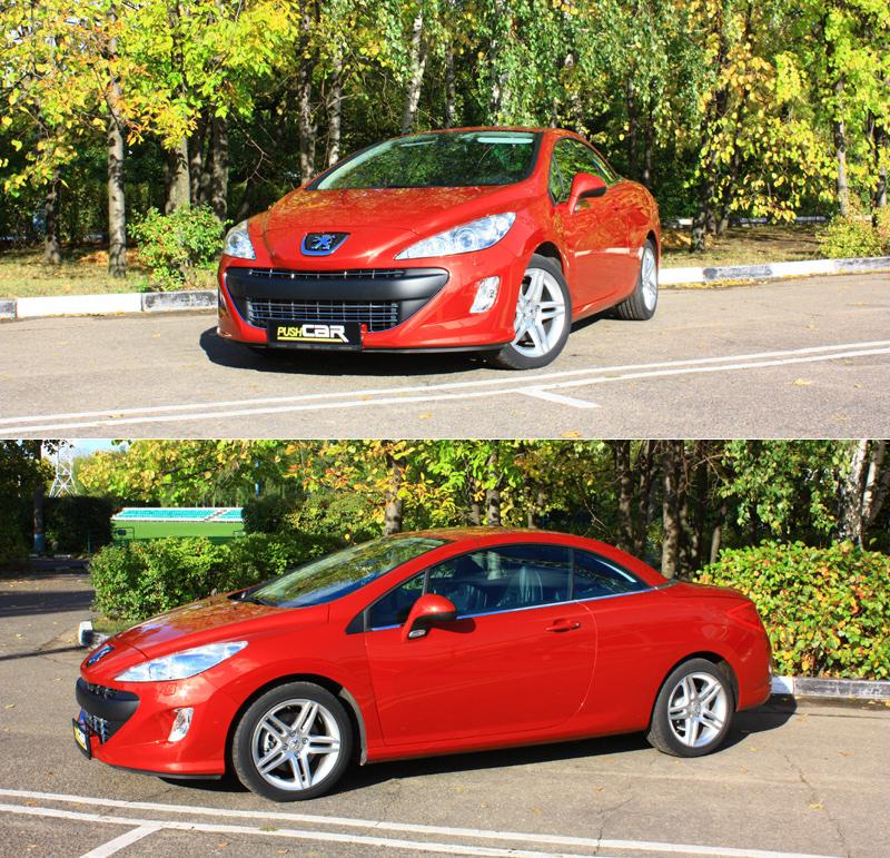 Тест-драйв Peugeot 308 CC: Осеннее дежавю