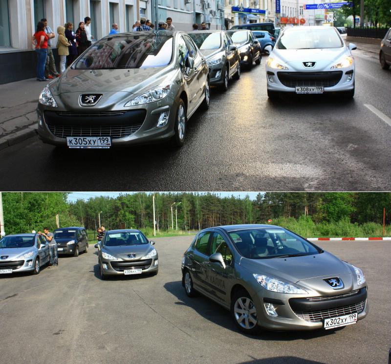 Тест-драйв Peugeot 308: Покорение России. Автопробег Москва – Иркутск. Часть 1