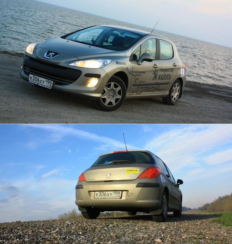 Тест-драйв Peugeot 308: Покорение России. Автопробег Москва – Иркутск. Часть 2