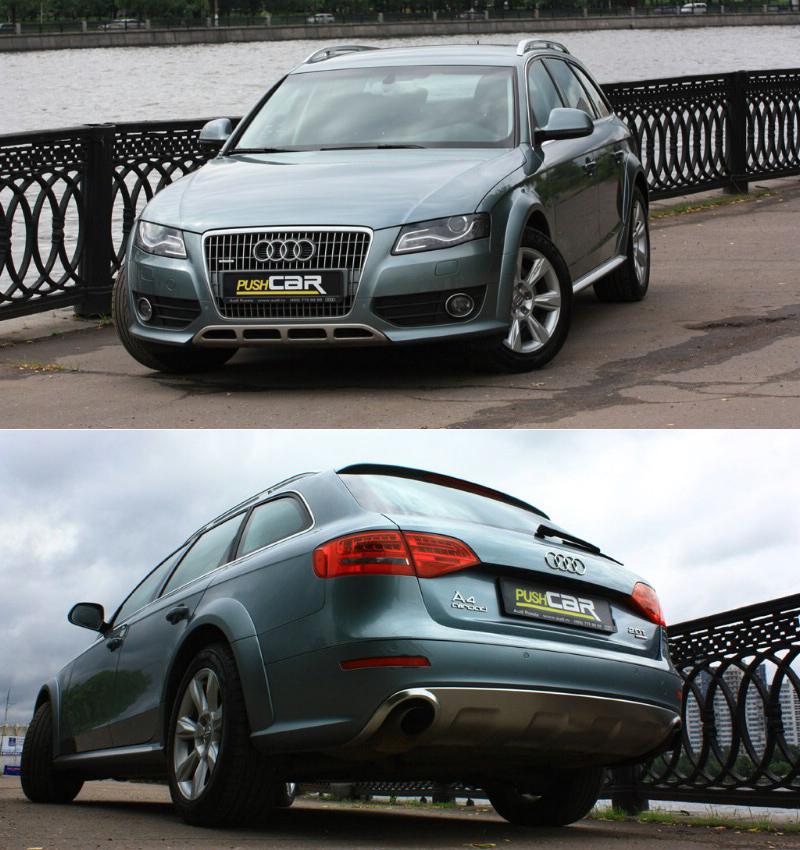 Тест-драйв Audi A4 Allroad: Элегантная практичность