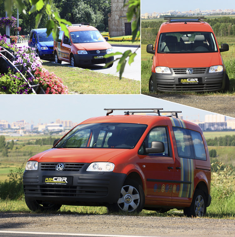 Тест-драйв Volkswagen Caddy: Петербургский weekend