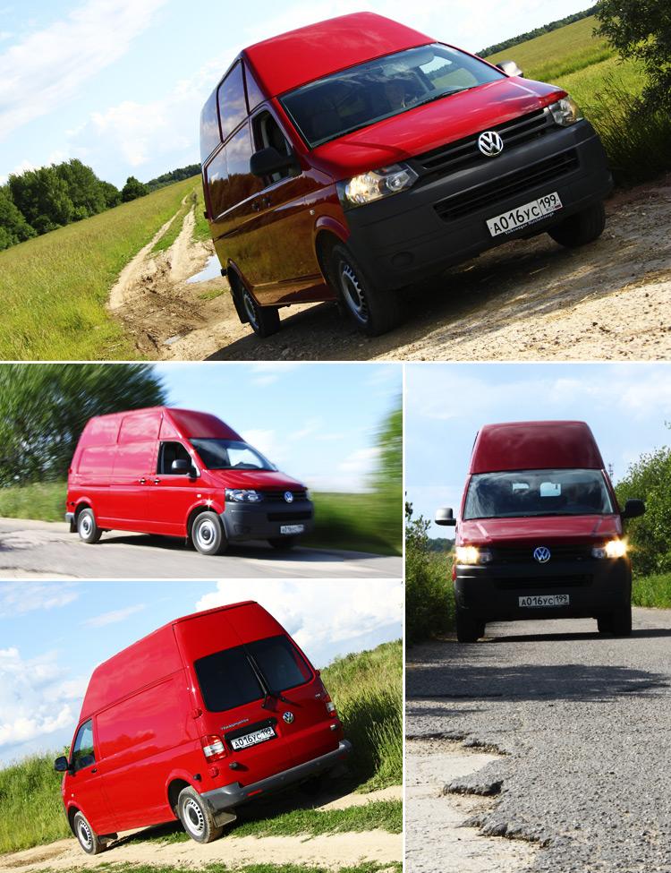 Тест-драйв Volkswagen Transporter: Комфортные грузоперевозки