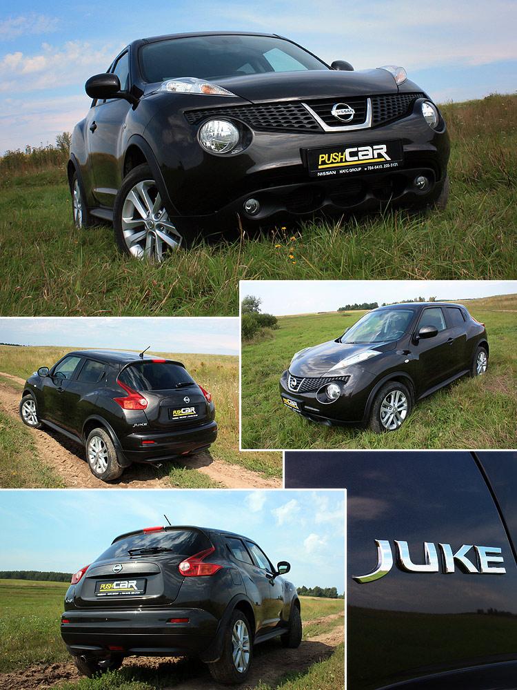 Тест-драйв Nissan Juke: Найди в нем что-нибудь своё!