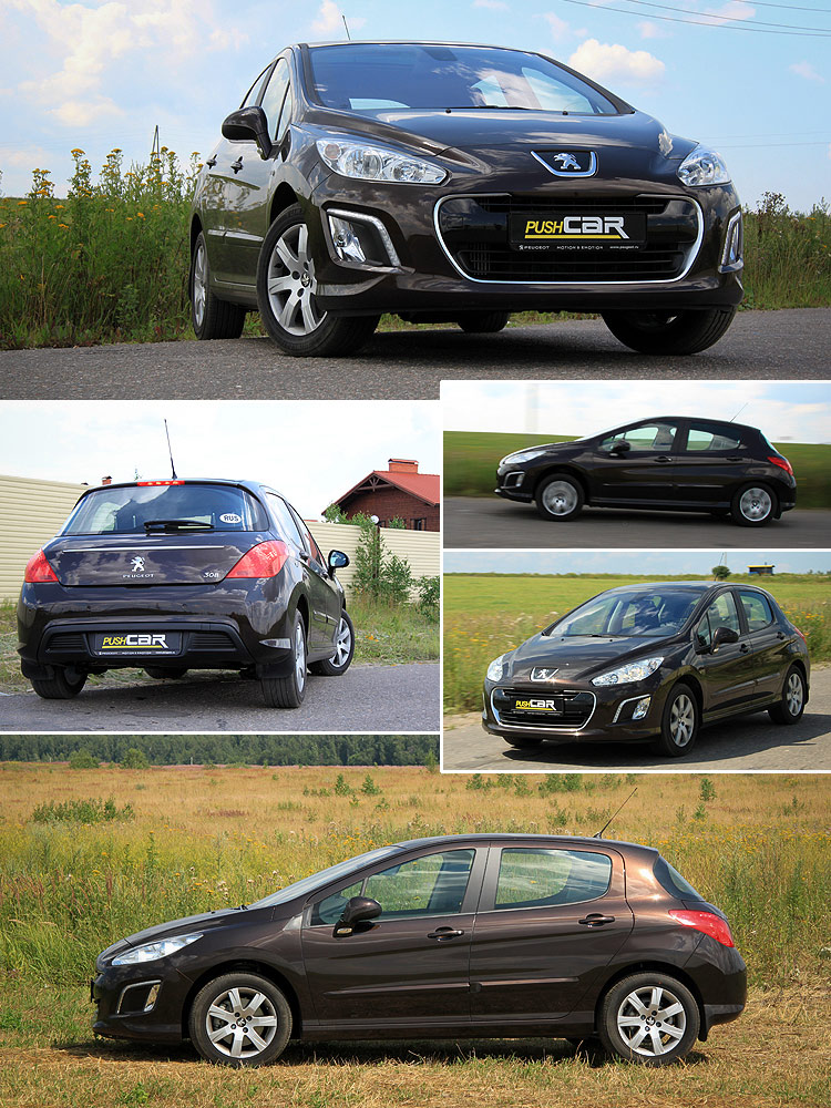 Тест-драйв Peugeot 308: О-О-О, Господа желают погорячее...!?