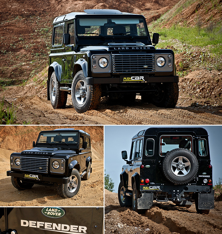 Тест-драйв Land Rover Defender: Гражданский тест