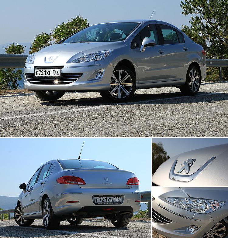Тест-драйв Peugeot 408: Отличник!