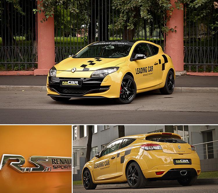 Тест-драйв Renault Megane RS: Кому спорта, кому стиля?