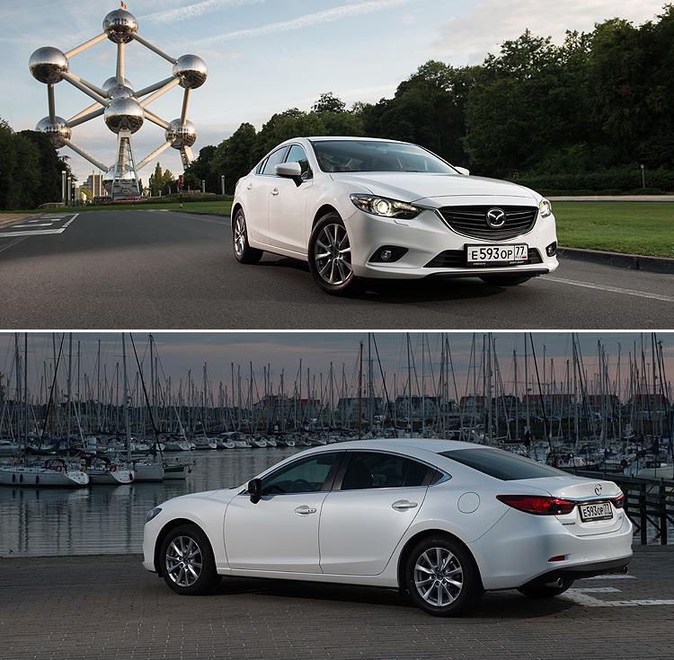 Тест-драйв Mazda 6: Теперь быстрее!
