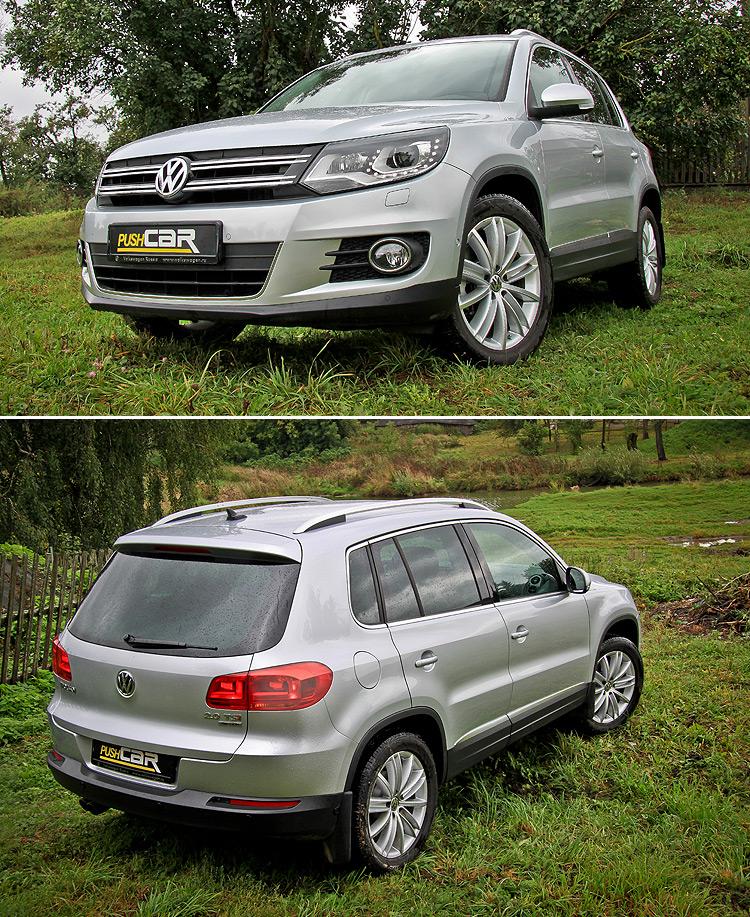 Тест-драйв Volkswagen Tiguan: Классика в сегменте кроссоверов