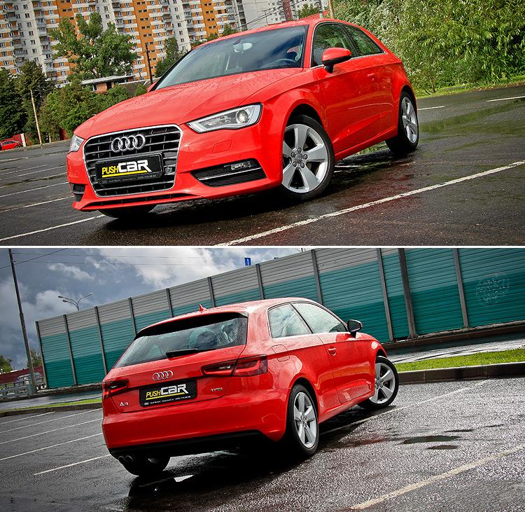 Тест-драйв Audi A3: Традиционное исполнение