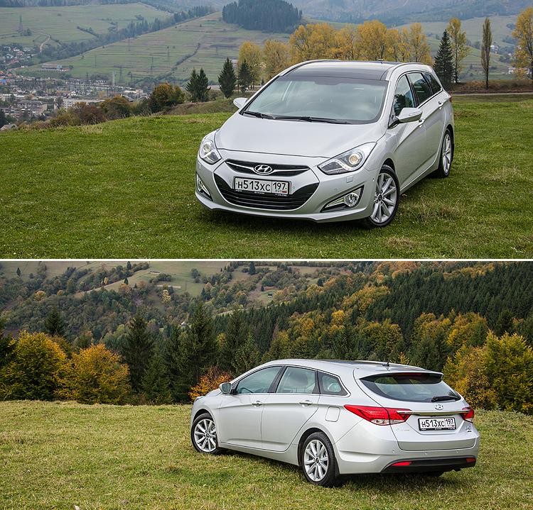 Тест-драйв Hyundai i30 и Hyundai i40: Универсальное знакомство