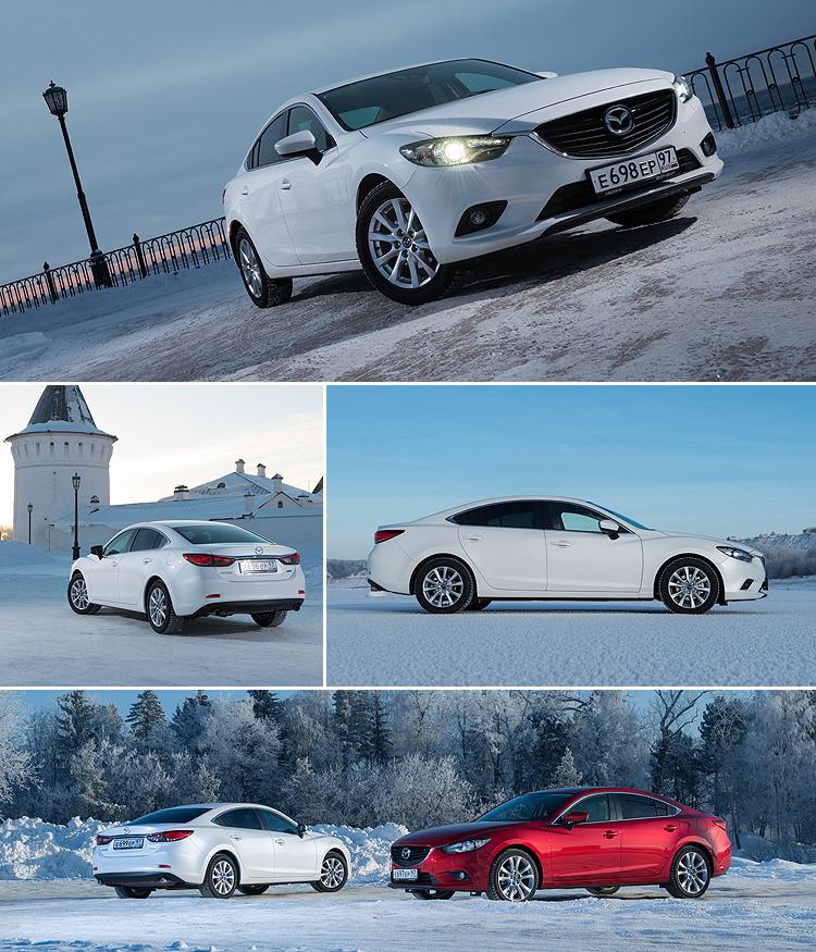 Тест-драйв Mazda 6: Красивее, престижнее, дороже