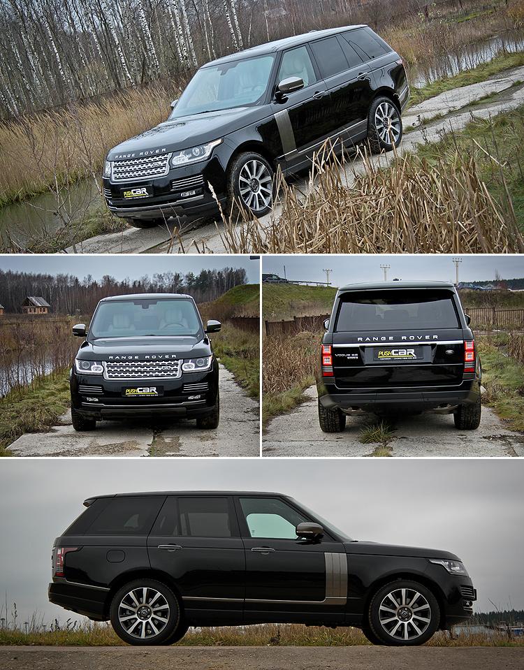 Тест-драйв Land Rover Range Rover: Короткое свидание