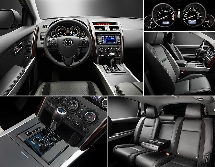 Интерьер Mazda CX-9