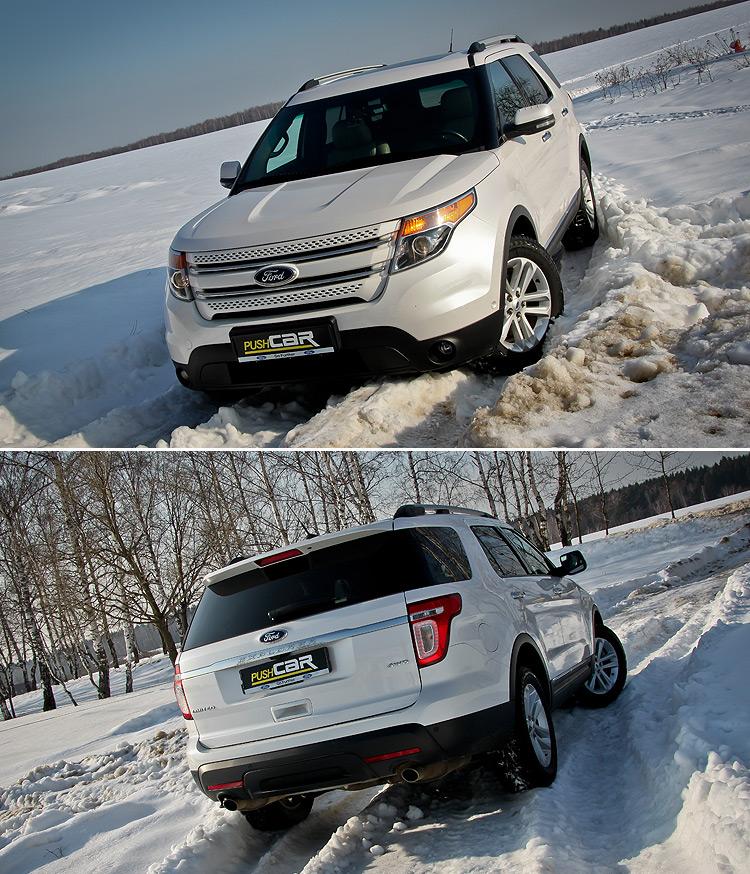 Тест-драйв Ford Explorer: Не тот, что прежде
