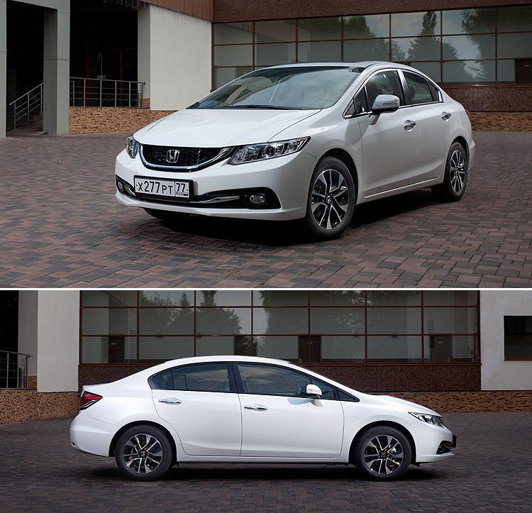 Тест-драйв Honda Civic: Смотрим обновление