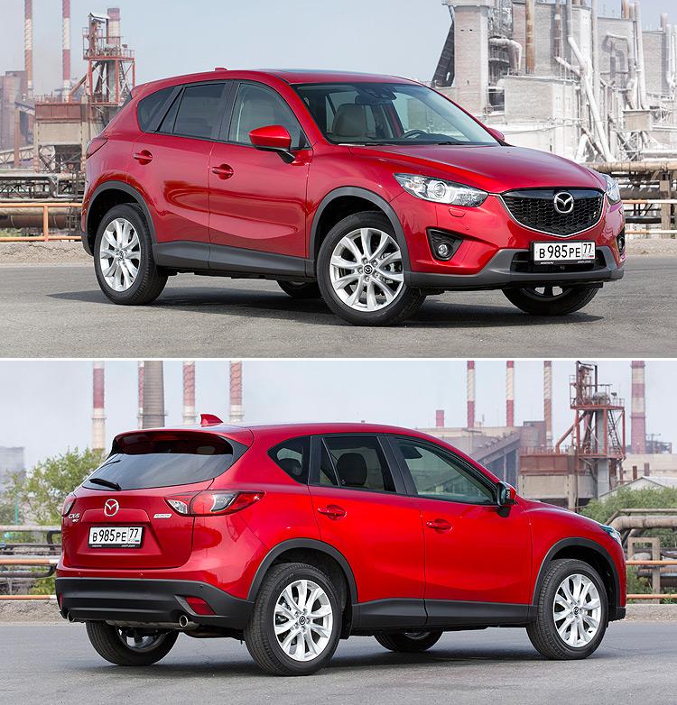 Тест-драйв Mazda CX-5: Новые ощущения