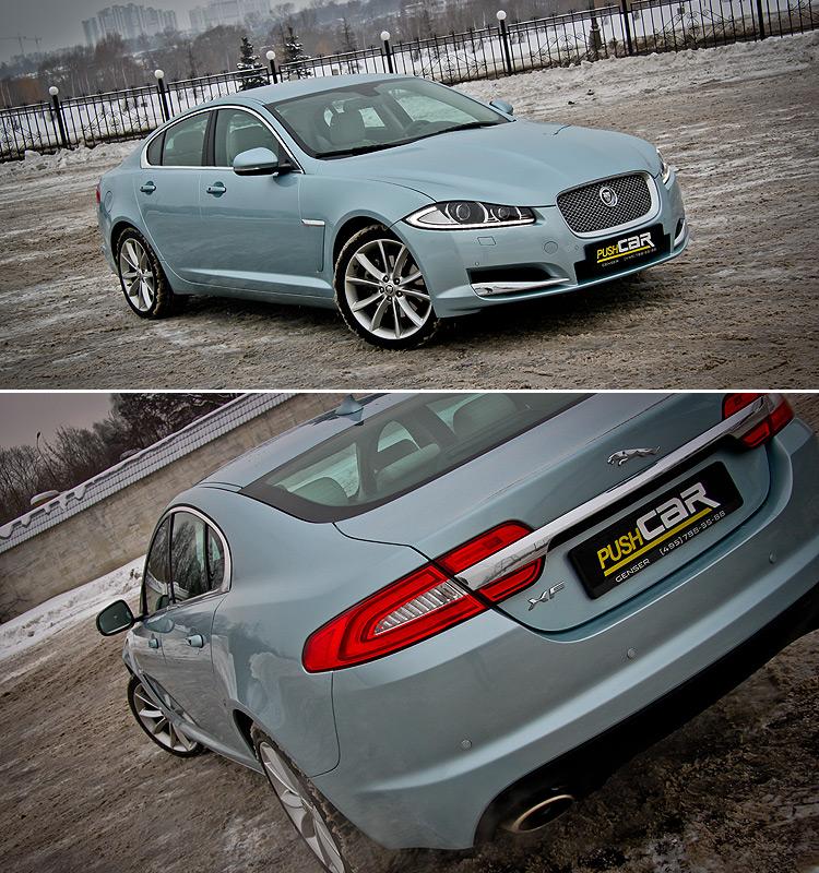 Тест-драйв Jaguar XF: Как во фраке