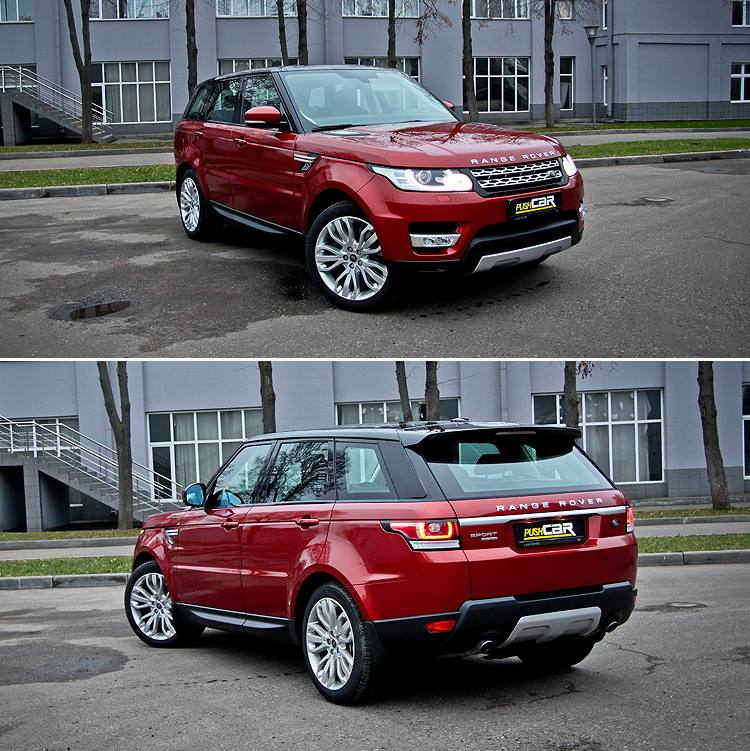 Тест-драйв Land Rover Range Rover Sport: Уколите мне его в вену!