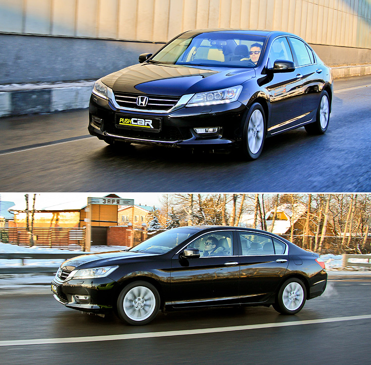 Тест-драйв Honda Accord: Другой формат
