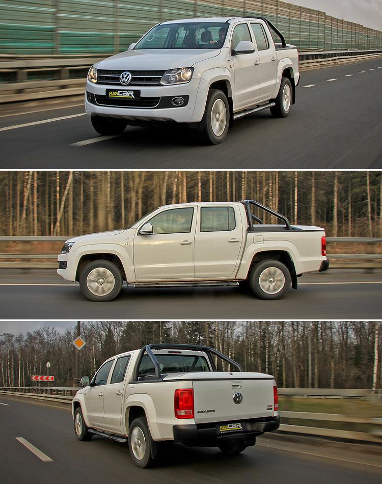 Тест-драйв Volkswagen Amarok: Неожиданно приятный!