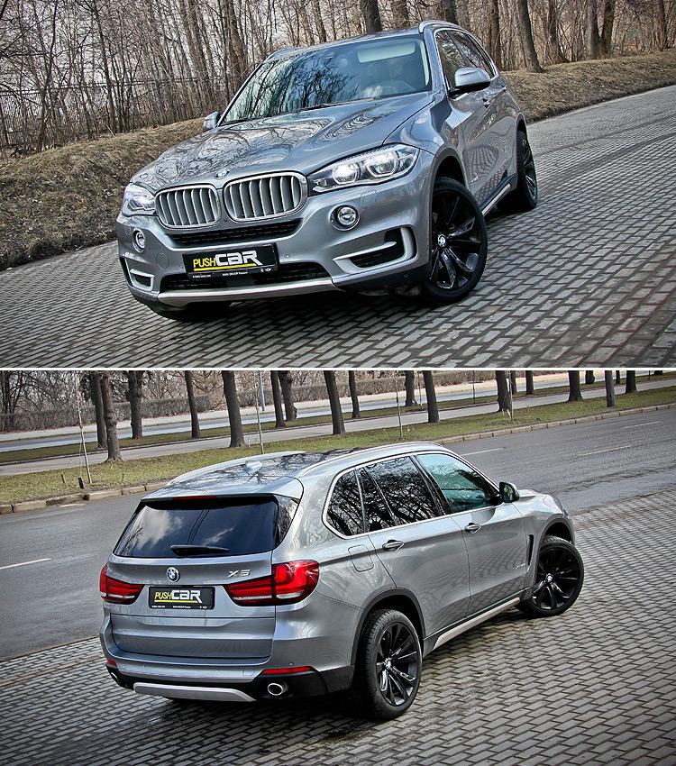 Тест-драйв BMW X5: «Бунтарь»