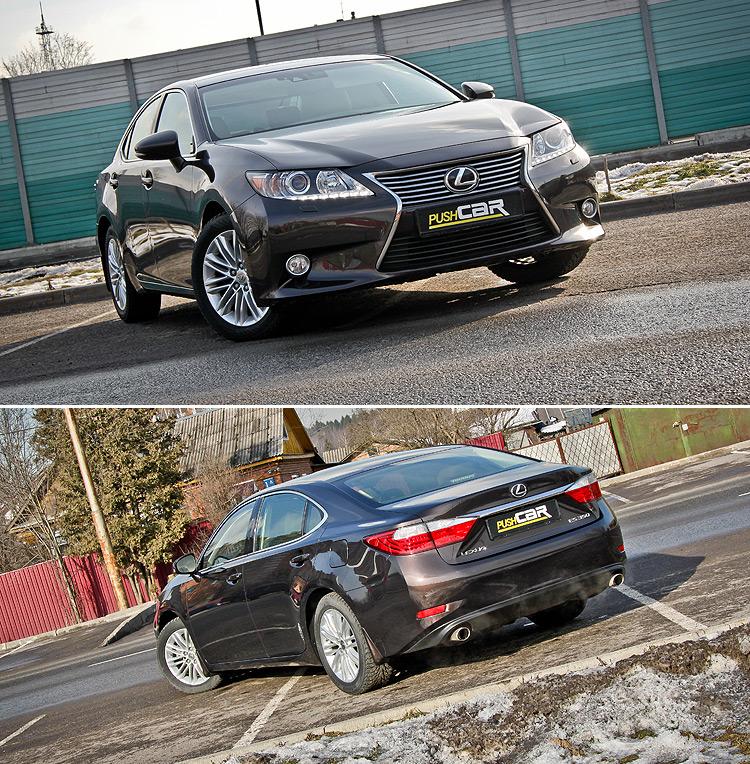 Тест-драйв Lexus ES: Бизнес-класс начального уровня