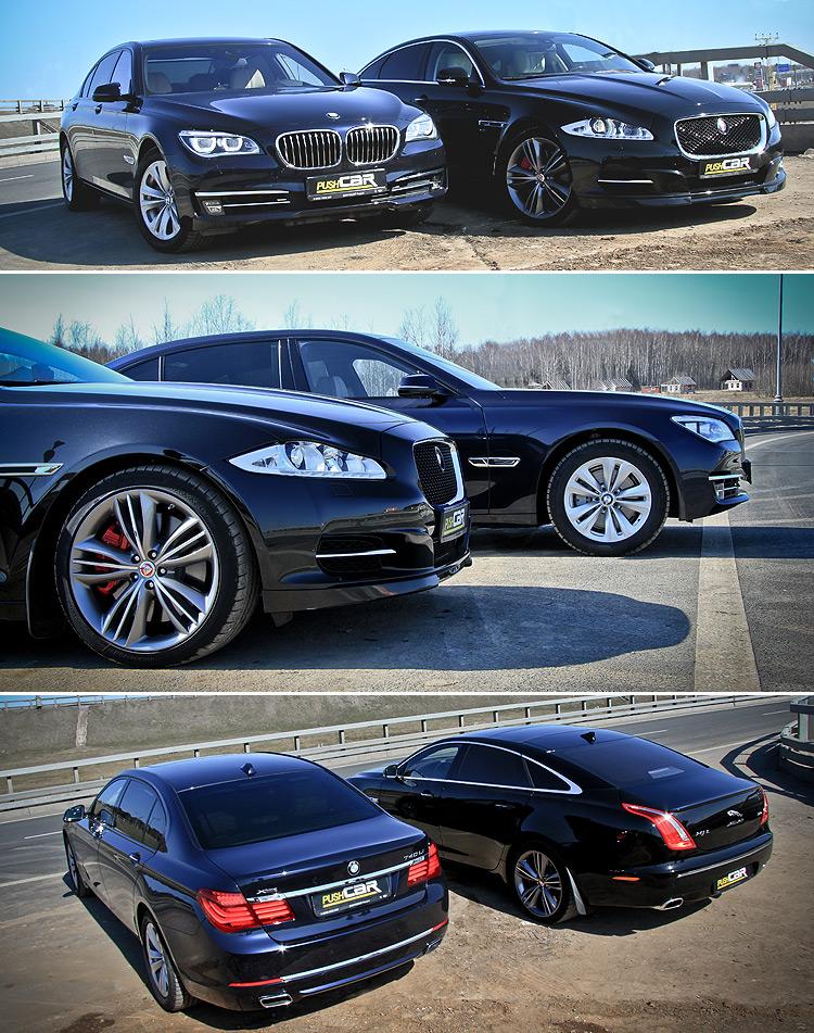 Тест-драйв BMW 7 серии и Jaguar XJ: Какой «бизнес» выбрать?