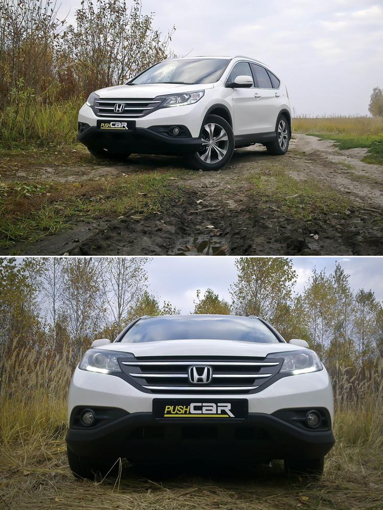 Тест-драйв Honda CR-V: Для истинных ценителей