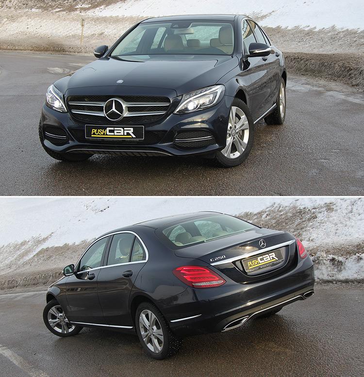 Тест-драйв Mercedes-Benz C-Класс: Новый. Эффективный. Убедительный.