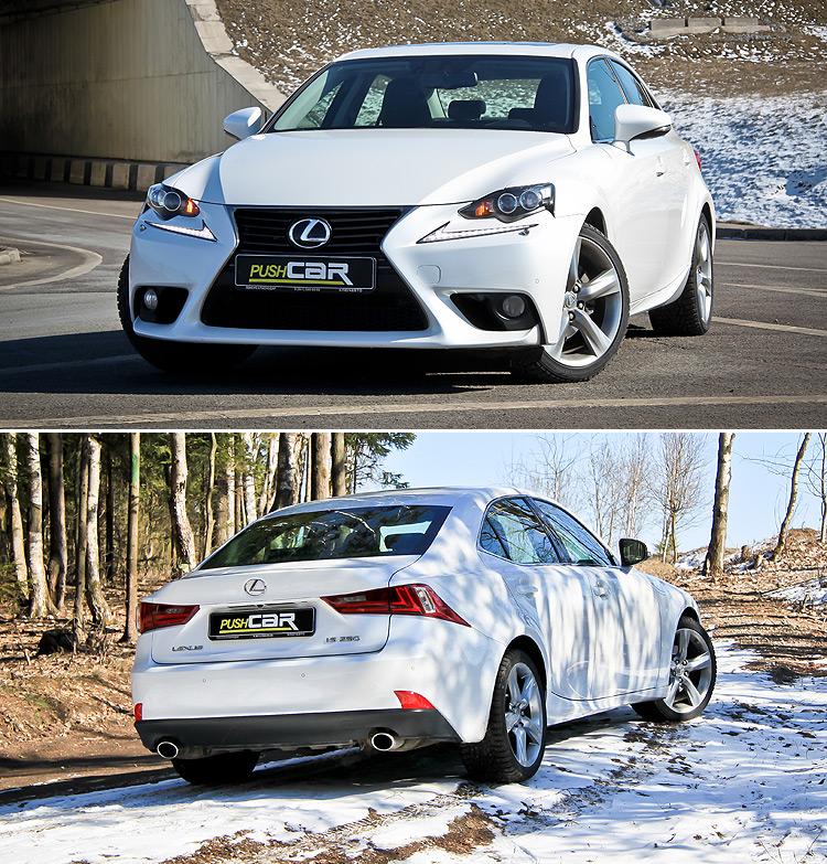 Тест-драйв Lexus IS: Дизайну вопреки