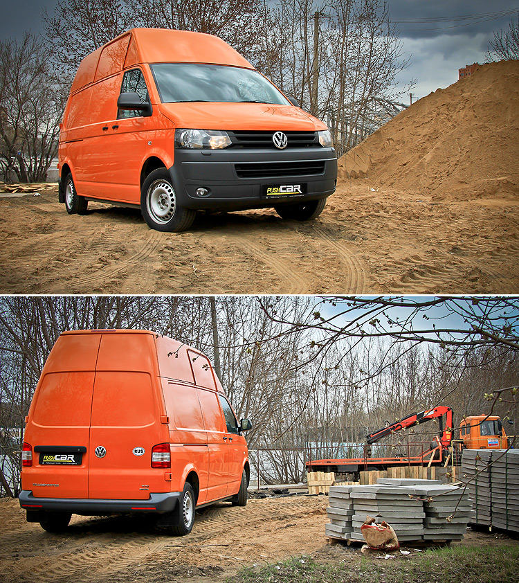 Тест-драйв Volkswagen Transporter: Надежный перевозчик