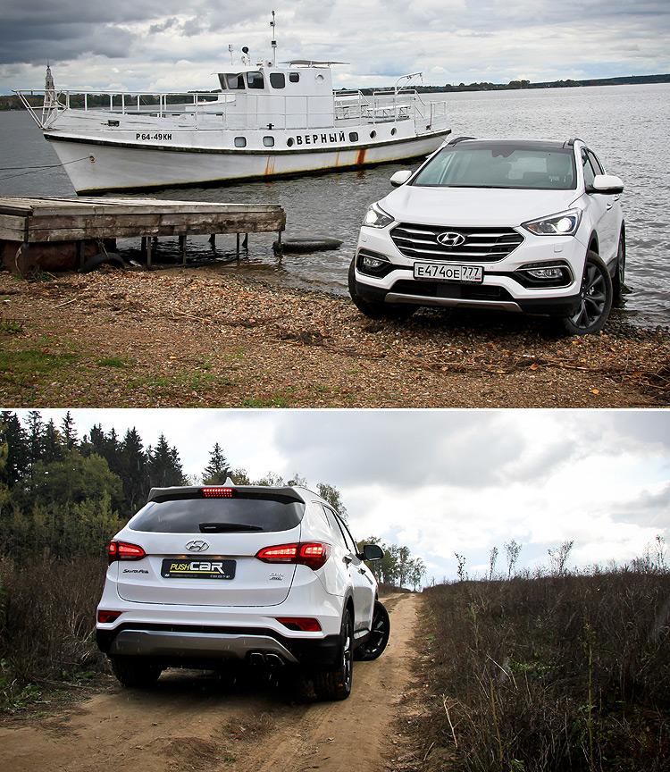 Тест-драйв Hyundai Santa Fe Premium: Цель на «премиум»