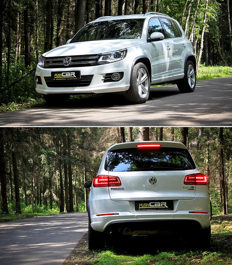 Тест-драйв Volkswagen Tiguan: Спортивный вариант