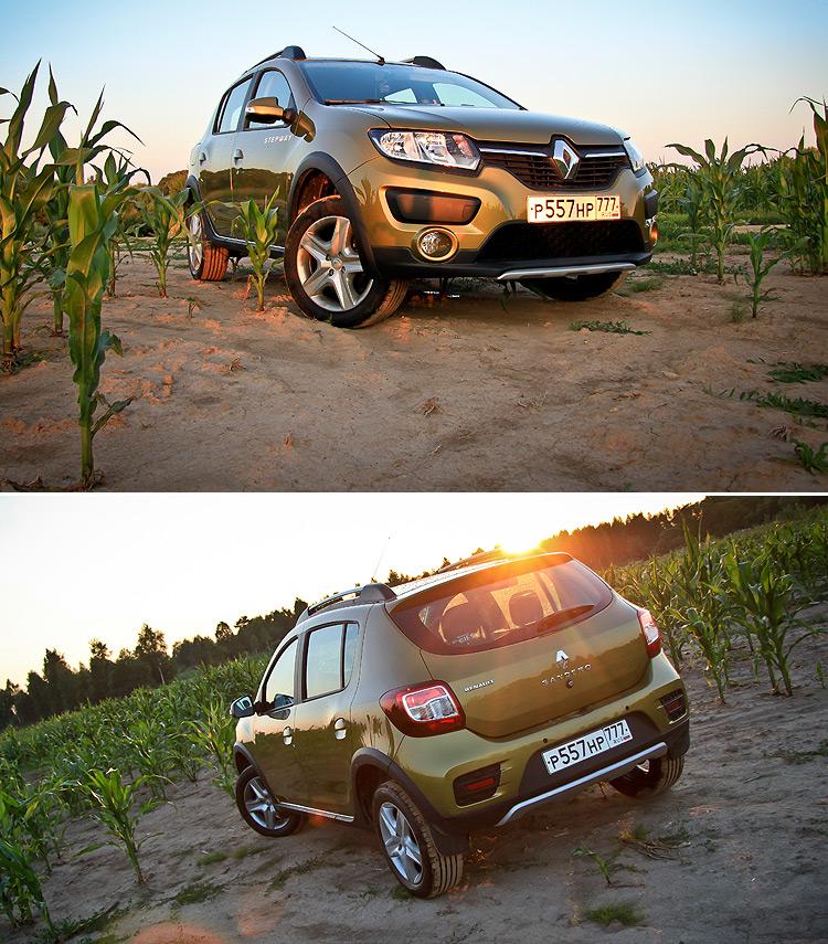 Тест-драйв Renault Sandero Stepway: Для новичков