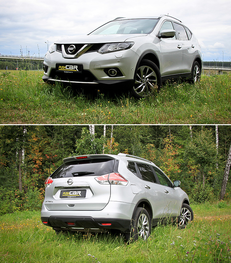 Тест-драйв Nissan X-Trail: Новая концепция