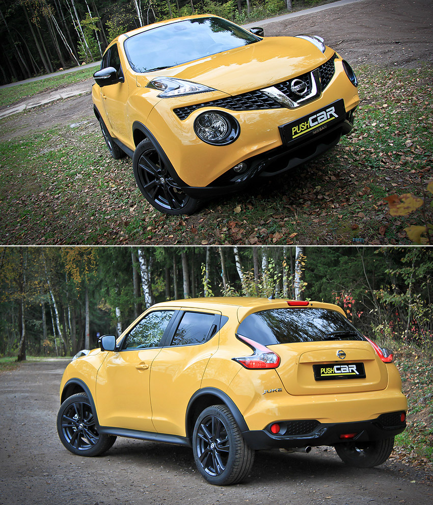 Тест-драйв Nissan Juke: Позитивно желтый
