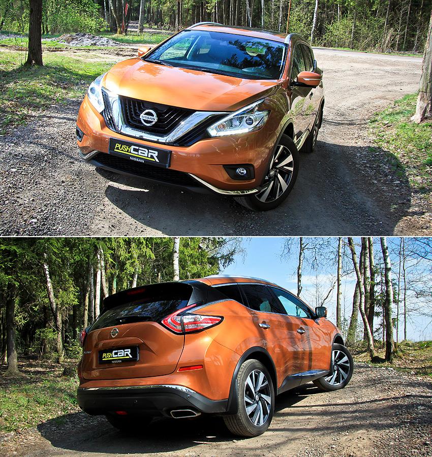 Тест-драйв Nissan Murano: Спортзал на колесах