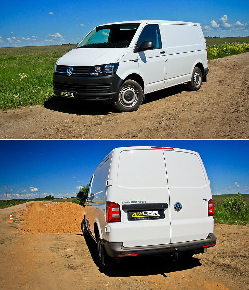 Тест-драйв Volkswagen Transporter: 5 поколений спустя