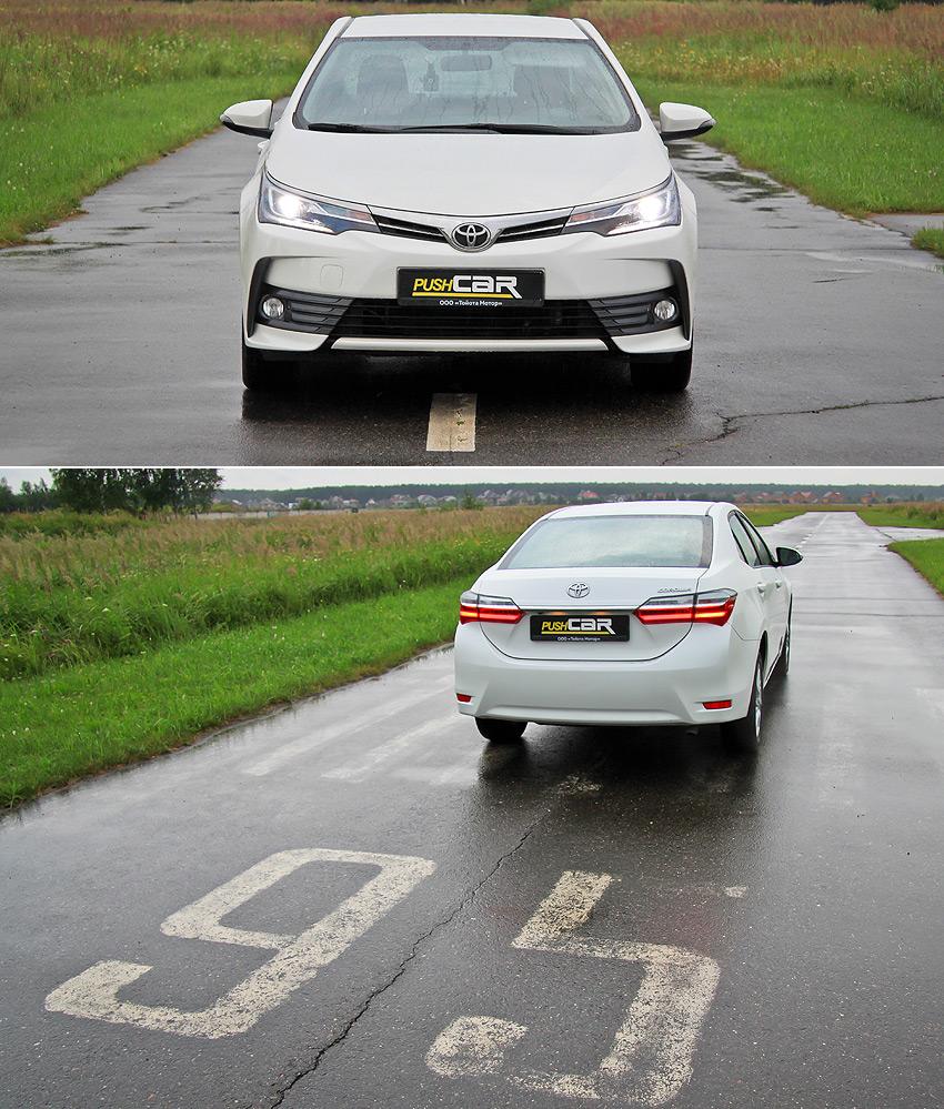 Тест-драйв Toyota Corolla: Надежда на обновление