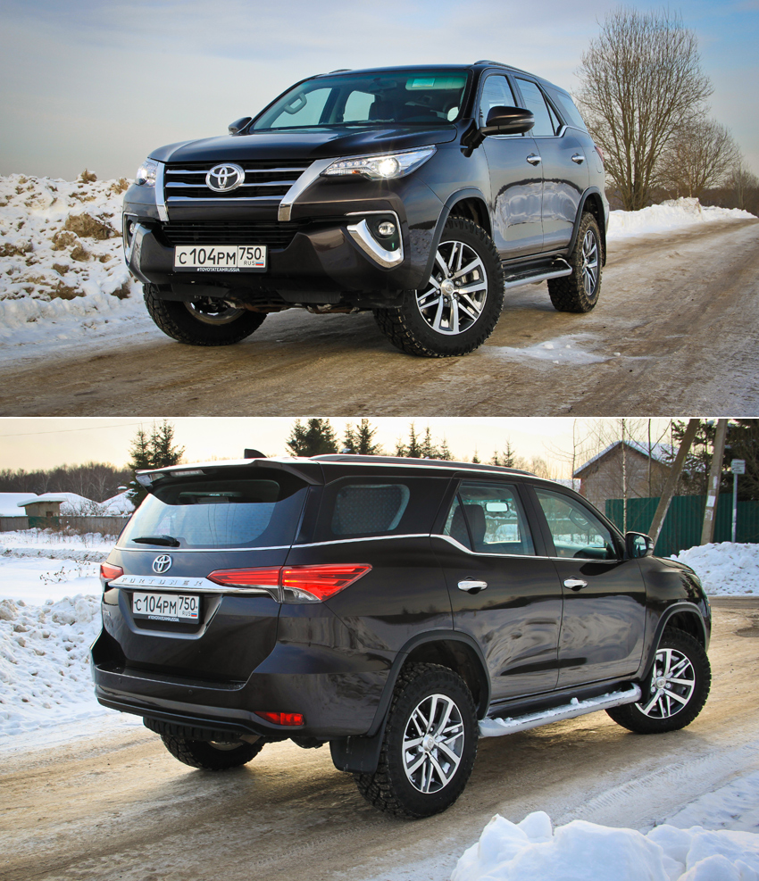 Тест-драйв Toyota Fortuner: Рама Heavy Duty и полный привод Part-time