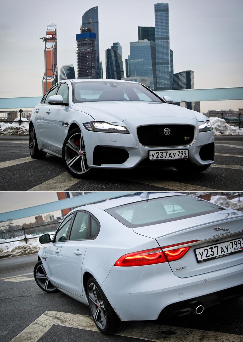 Тест-драйв Jaguar XF: Стильно. Дорого. Необычно