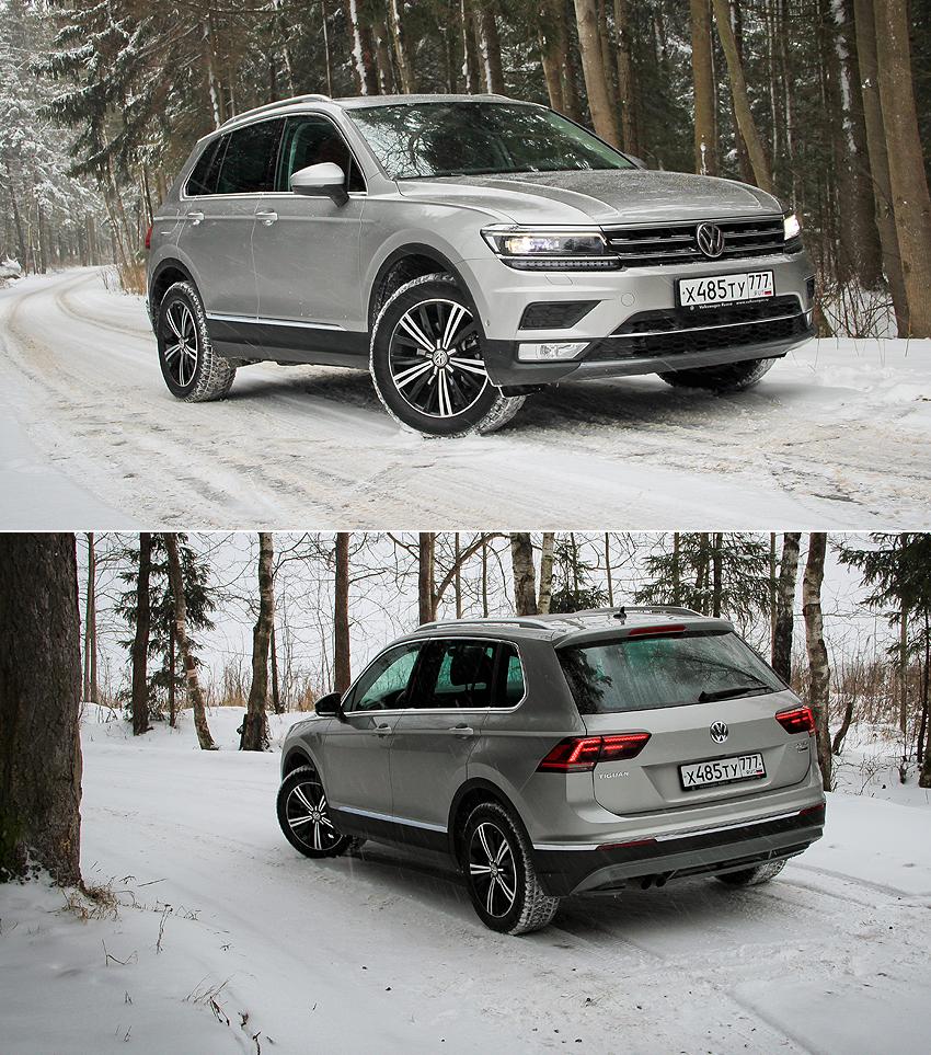 Тест-драйв Volkswagen Tiguan: Вторая волна популярности
